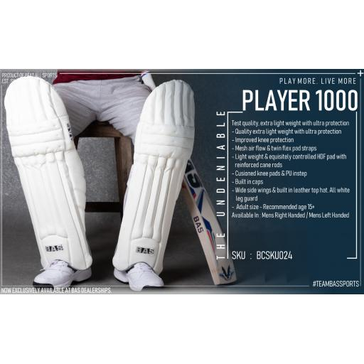 Player 1000 Legguards