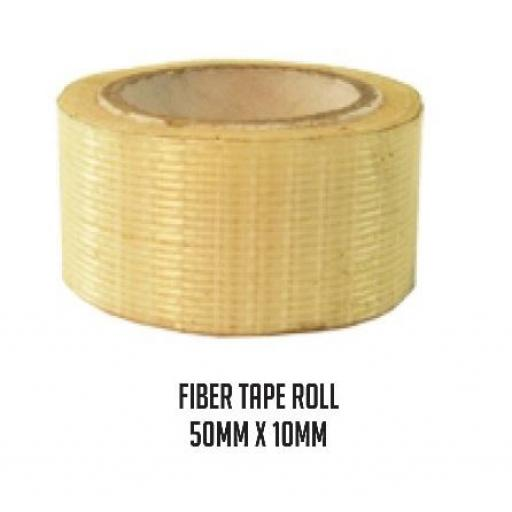 Fibre Tape Roll - 5M x 100MM - Mansfield Sports Group