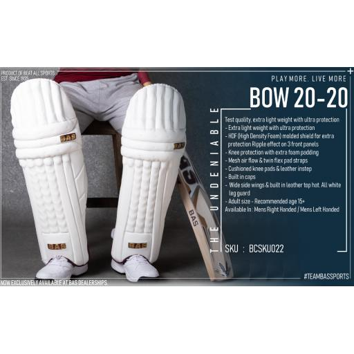 BOW 20-20 Legguards - Mansfield Sports Group