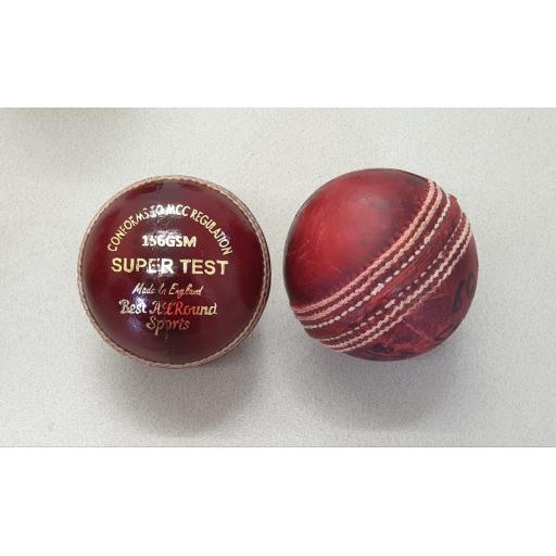Super Test Ball - Wax Finish - Mansfield Sports Group