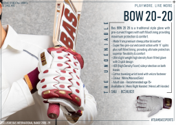 BOW 20-20 Batting Gloves - Mansfield Sports Group
