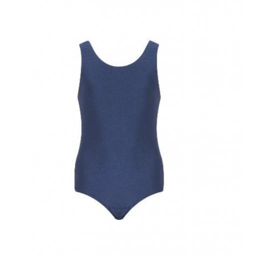 Plain Navy Swimming Costume