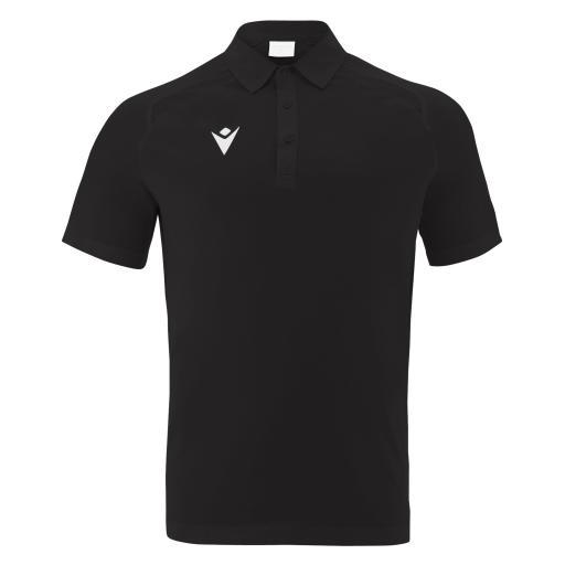 HUTTON - Match Shirt - Black (Demo)