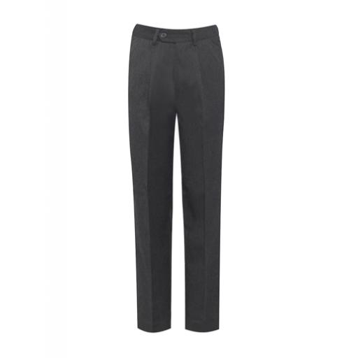 Mid-grey trousers