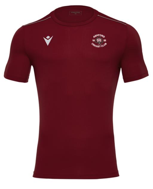 Ashford CC Rigel Hero Training Shirt - Maroon.png