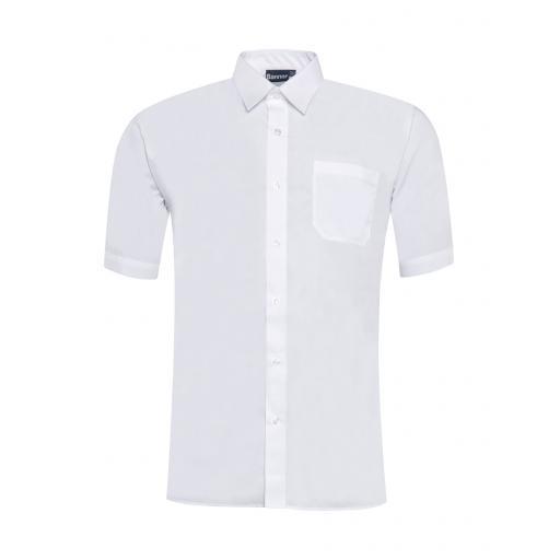 Plain White Shirt S/S