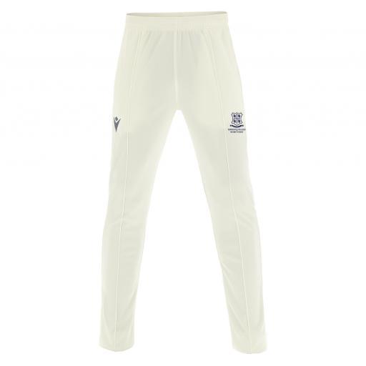 Cricket White Trouser